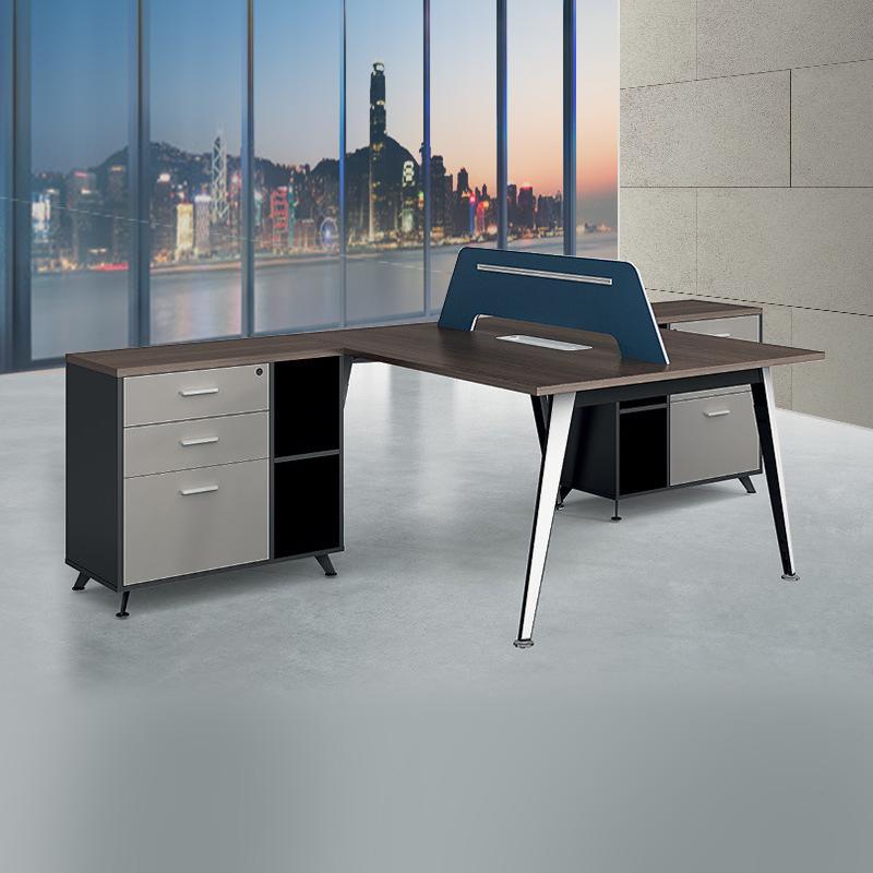 实木板式办公桌椅