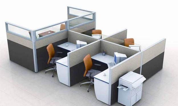 办公屏风工作桌