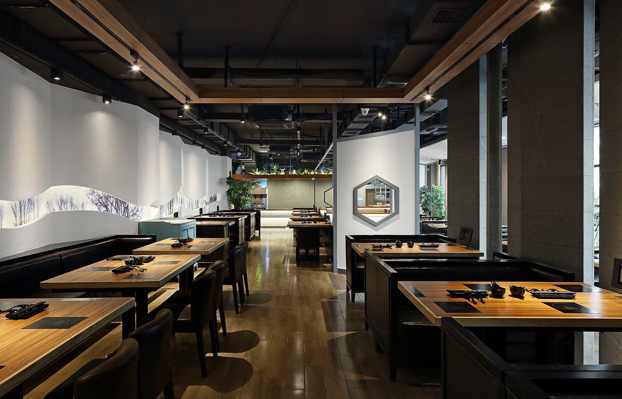 新中式火锅桌